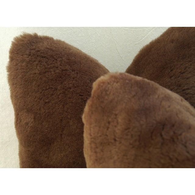 Pierre Frey Plush Lambswool Pillows - A Pair - Image 6 of 7