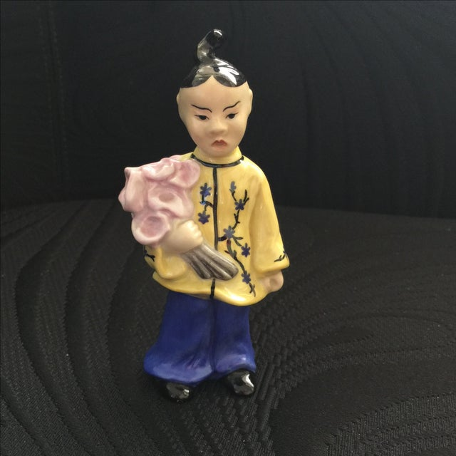 Herend Chinoiserie Figure - Image 2 of 4