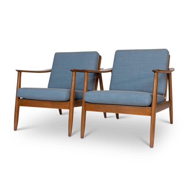 Folke Ohlsson Pair of Folke Ohlsson / Dux Lounge Chairs For Sale - Image 4 of 12