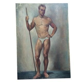 Academy Male Figure Study For Sale