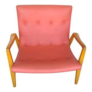 1950s Vintage Milo Baughman Scoop Chair For Sale