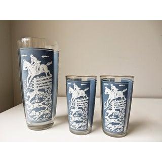 Vintage Cocktail Shaker and Glasses Set - Set of 11 Preview