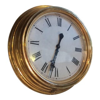 Antique Giltwood Clock For Sale