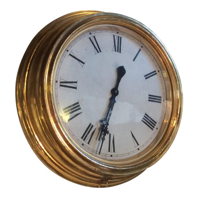Antique Giltwood Clock - Image 1 of 6