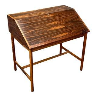 1960s Mid-Century Modern Torbjørn Afdal Rosewood Secretaire For Sale