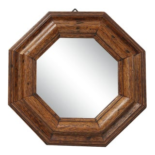 Italian Vintage Octagonal Mirror For Sale
