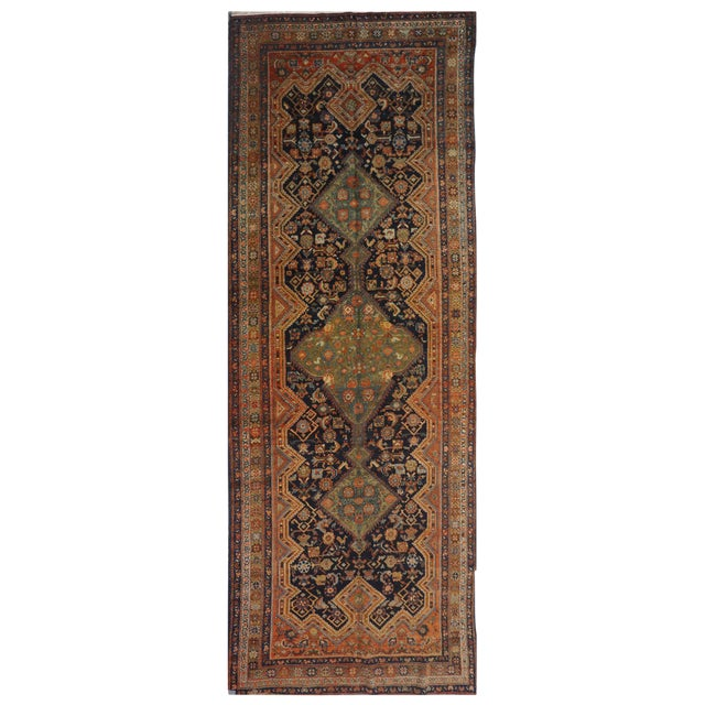Antique Persian Malayer Rug - 5.10 x 16.8 - Image 1 of 4
