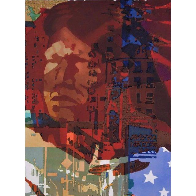 "Daniel Siculan (American, 1923-2015) ""She-Kag-Ong"", Screenprint, number 1 of an edition of 250. Numbered, titled and..."
