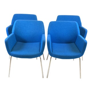 Modern Coalesse Bindu Chairs- Set of 4 For Sale