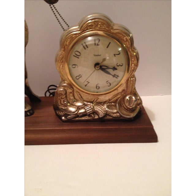 Horse Mantel Clock - Image 4 of 5