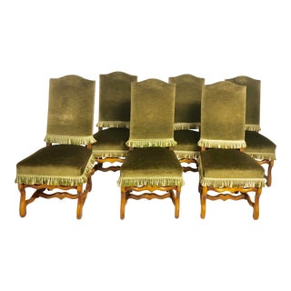 French Dining Chairs Os De Mouton - Set of 6 For Sale