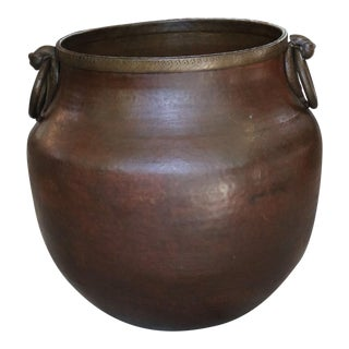 Brass Bird Handle Water Pot For Sale