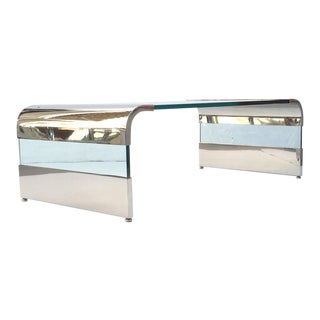 Waterfall Cocktail Table by Leon Rosen for Pace Collection For Sale