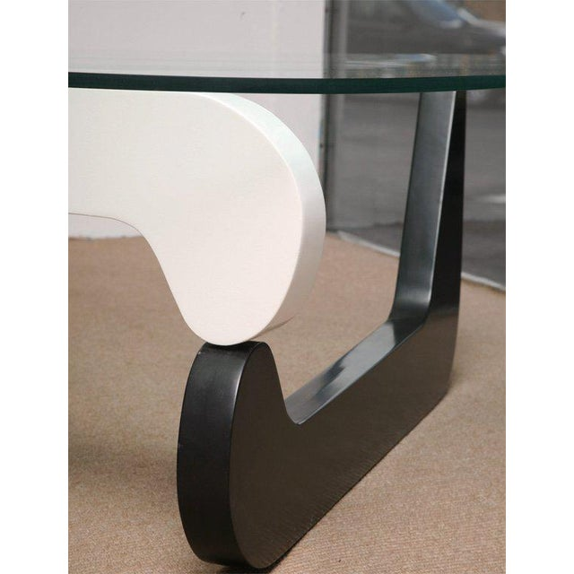 Black 1950s Mid-Century Modern Noguchi Coffee Table For Sale - Image 8 of 10