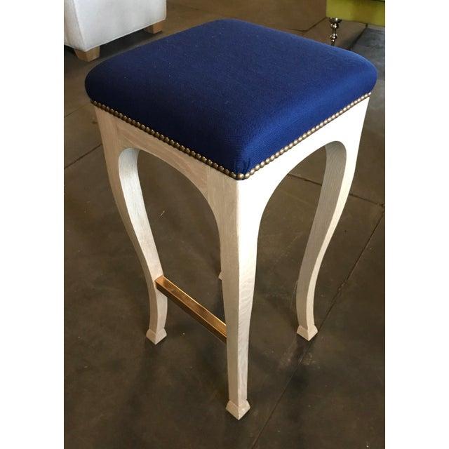 "Truex American Furniture ""Golden Gate"" Bar Stool - Image 6 of 6"