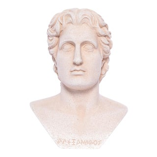 Alexander the Great Sandstone Bust For Sale