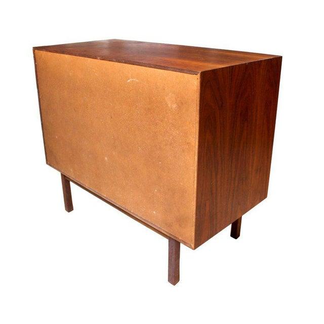 1950s Milo Baughman for Arch Gordon Walnut Four-Drawer Dresser - Image 8 of 10