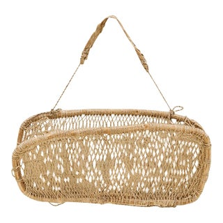 Mexican Hanging Carry Basket For Sale