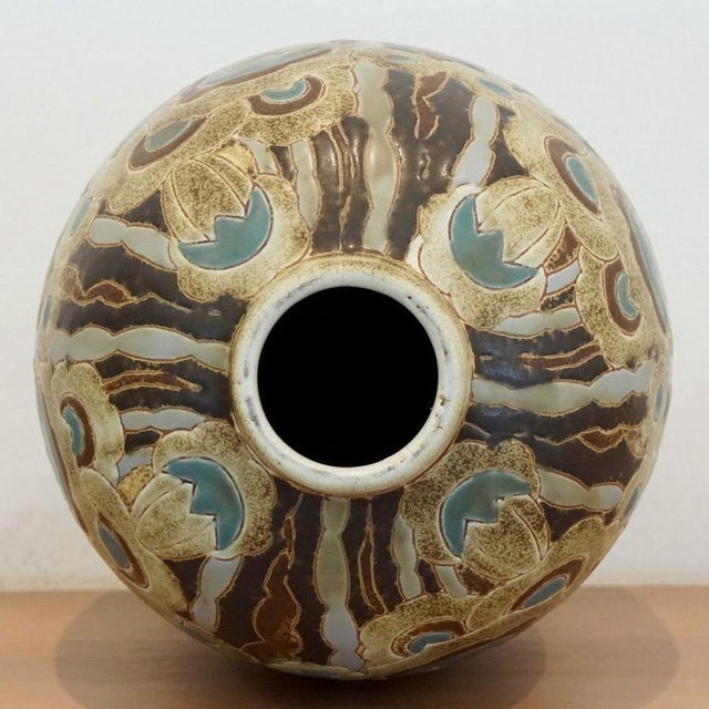1920s 1920s Charles Catteau Vase For Sale - Image 5 of 7