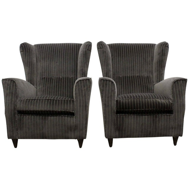 Pair of Armchairs by Paolo Buffa, Italy, 1950s For Sale - Image 11 of 11