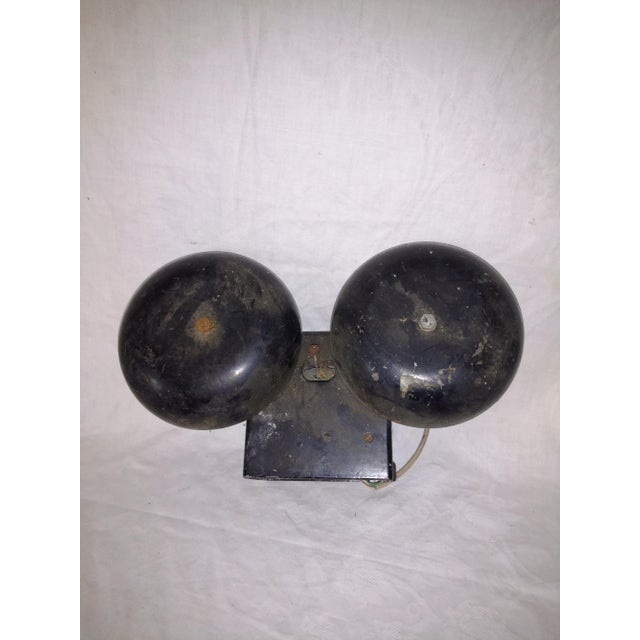 Vintage Industrial Salvage Gte Telephone Bell Alarm For Sale - Image 9 of 9