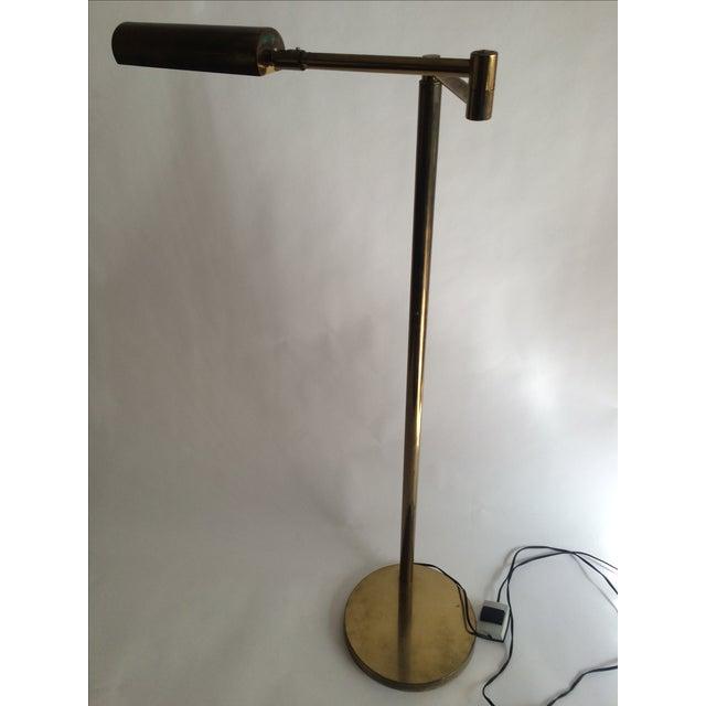 Koch + Lowy Brass Floor Lamp - Image 9 of 9