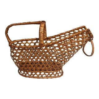 Wicker Bottle Holder For Sale