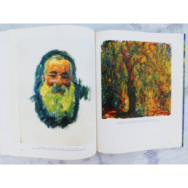 Vintage 'Monet, a Retrospective' Hardcover - Image 6 of 11