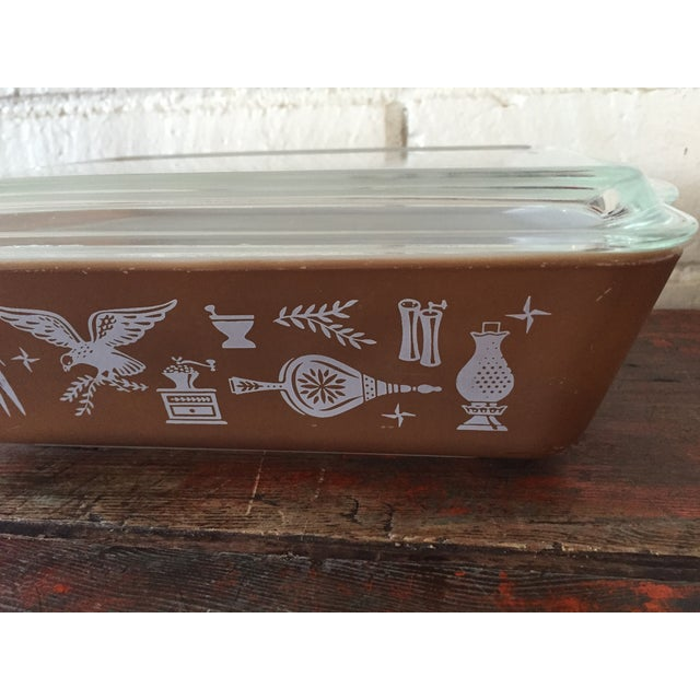 Pyrex Pyrex Early American Refrigerator Dishes - S/4 For Sale - Image 4 of 7