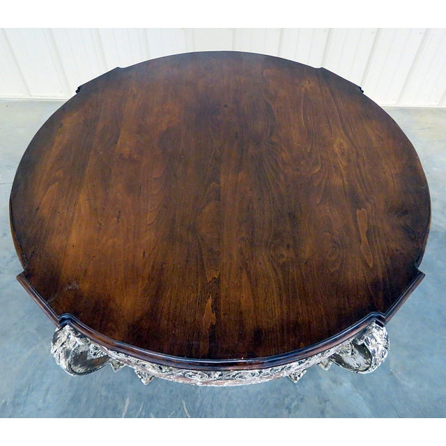 Swedish Napoleonic Style Center Table For Sale In Philadelphia - Image 6 of 10