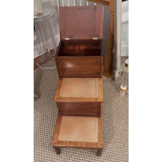 Wood Library Steps For Sale - Image 7 of 11