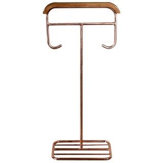 Modernist German Copper Plated Valet