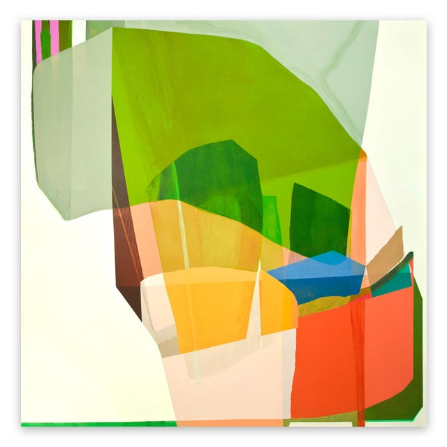 "Susan Cantrick Susan Cantrick ""Sbc 169"", Painting For Sale - Image 4 of 4"