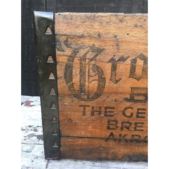 Country Grossvater Beer Crate - 1920s For Sale - Image 3 of 9