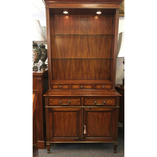 Theodore Alexander Display Cabinet For Sale - Image 13 of 13