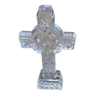 Waterford Celtic Crystal Cross For Sale