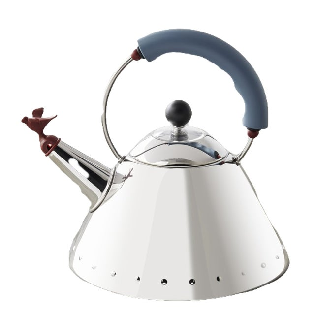 1990 Alessi Michael Graves Kettle For Sale