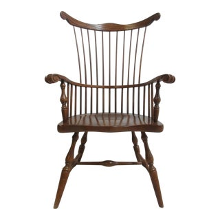 Pennsylvania House Over Sized Comb Back Windsor Chair