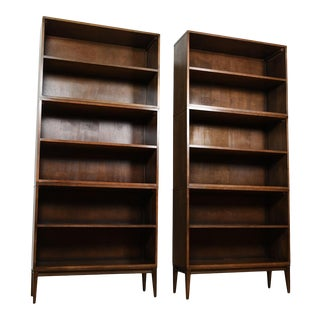 Pair of Stacking Mid Century Modern Paul McCobb Bookcases