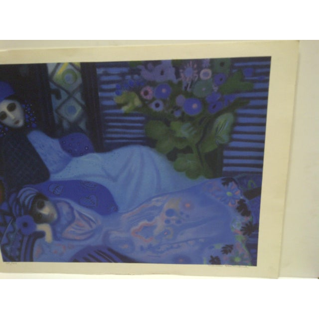 Limited Edition Signed Print Ghosts at Night Lucelle Stoisicord For Sale - Image 4 of 6