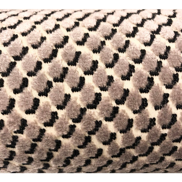 2010s Kate Spade for Kravet Mazzy Dot - Storm Chenille Upholstery Fabric - 5 Yards For Sale - Image 5 of 5