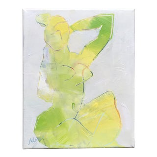 """Lime Nude"" Painting by Alice Houston Miles For Sale"