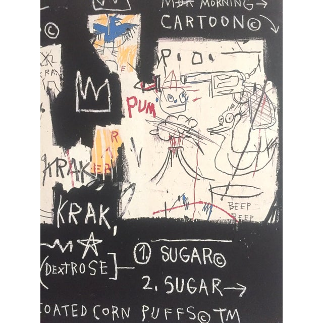 "Jean Michel Basquiat Original Pop Art Lithograph Print ""Panel of Experts"", 1982 For Sale - Image 10 of 11"
