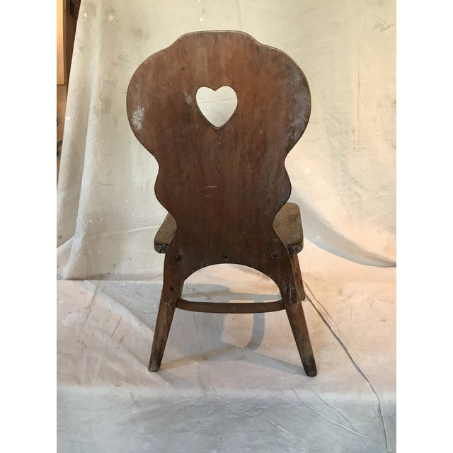 Antique Phoenix Chair Company Wooden Child S Chair Chairish