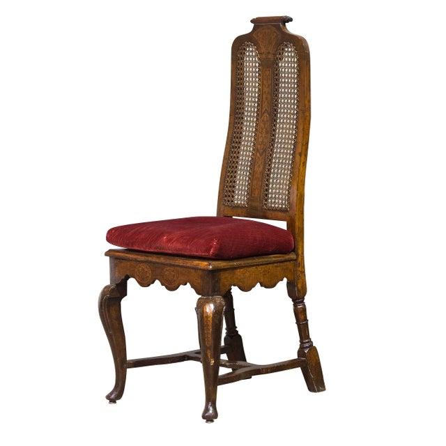 Antique Sarreid LTD Walnut Dining Chairs - Set of 4 - Image 2 of 3