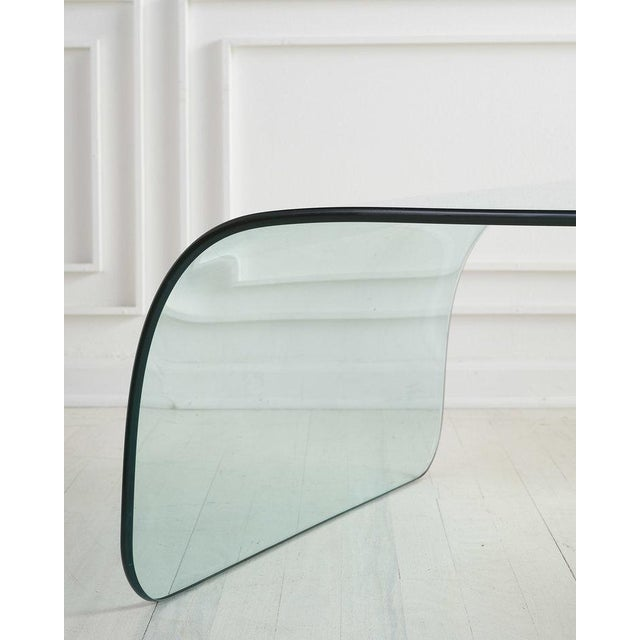 Glass Glass and Plaster Ball Coffee Table For Sale - Image 7 of 9
