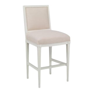 Chaddock - Delphine Bar Stool - Beige For Sale