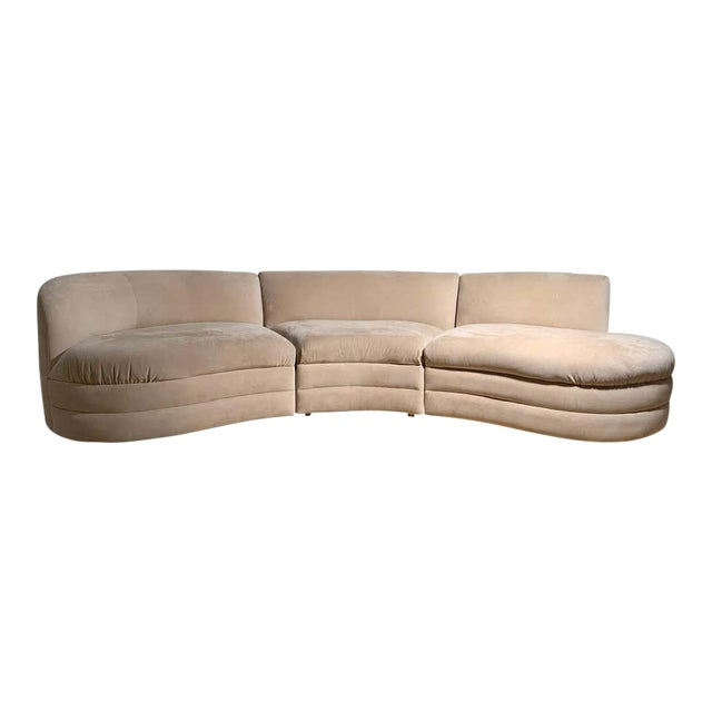 Vintage Sectional Cloud Sofa attributed to Vladimir Kagan For Sale