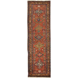 Surena Rugs Antique Handmade Persian Runner - 3' 2'' x 11' 2''