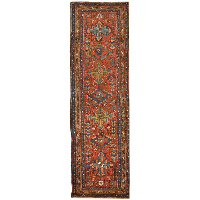 Surena Rugs Antique Handmade Persian Runner - 3' 2'' x 11' 2'' For Sale